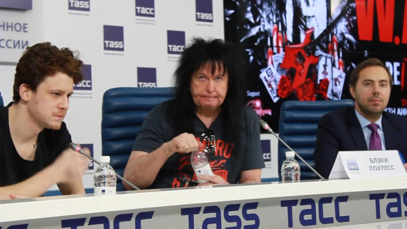 Blackie Lawless - 2017 - W.A.S.P. - Press Conference, Moscow (Interview)