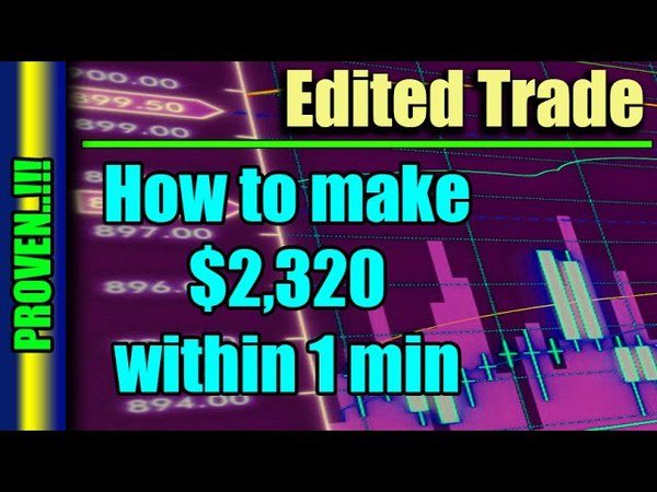 Non-Farm Payrolls trading with a Robot - $2,320 within 1 min