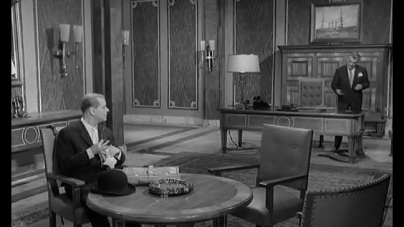 Агент поневоле (1961, ФРГ, Франция) комедия, триллер. 1 серия
