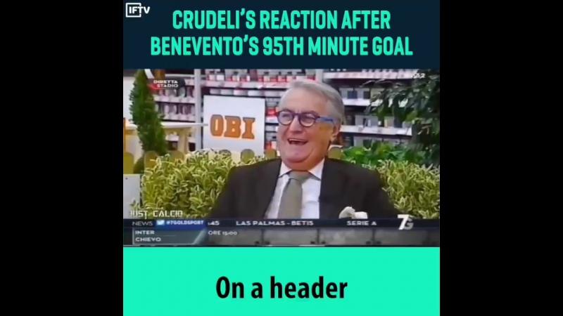 DirettaStadio 7Gold - Benevento - Milan 2-2 03/12/17 (Goal Brignoli 90') Elio Corno vs Tiziano Crudeli