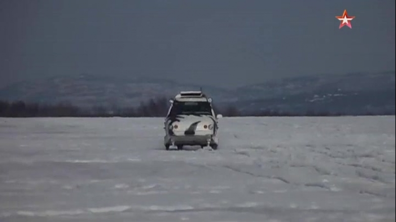 Грозный, мобильный, безжалостен к холоду американские СМИ восхитились арктическим снегоходом «Беркут-2»