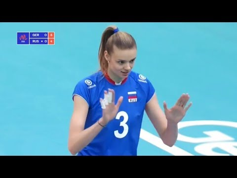 Germany v Russia 2018 Volleyball Nations League Full Highlights Women's