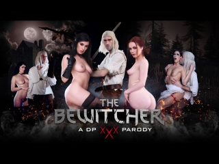 Ella Hughes, Olive Glass, Clea Gaultier & Danny D, The Bewitcher: A DP XXX Parody (2018)