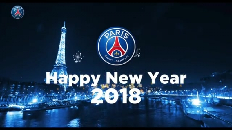 Paris Saint-Germain wishes you a happy new year 🔴🔵