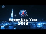 Paris Saint-Germain wishes you a happy new year ??