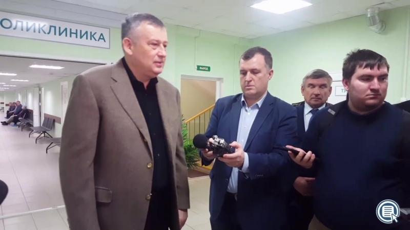 А.Дрозденко в Пашской участковой больнице