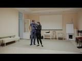ЗАВЯЗАЛИ (учебный этюд), в ролях: Вероника Демьяненко, Павел Малицкий, ИНСАЙТ, 2018