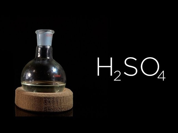 Концентрированная серная кислота (85%) из электролита