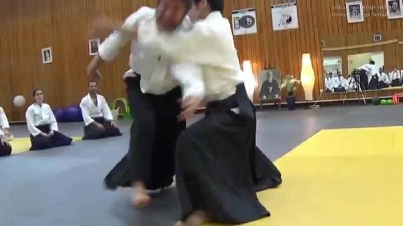 合気道 入身投げ Aikido Irimi Nage in Grecce