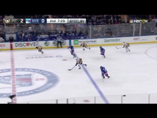 Нью Йорк Рейнджерс - Питтсбург Пингвинс (сезон 2017-2018) 14.03.18 обзор