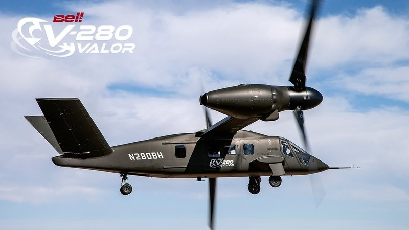 Bell V-280 Valor -- First Ever Cruise Mode Flight