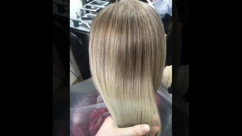 Салон-парикмахерская Lissa: Балаяж кокошоко голд
