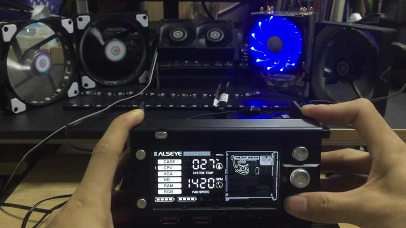 Потрясающая передняя панель-контроллер от Alseye