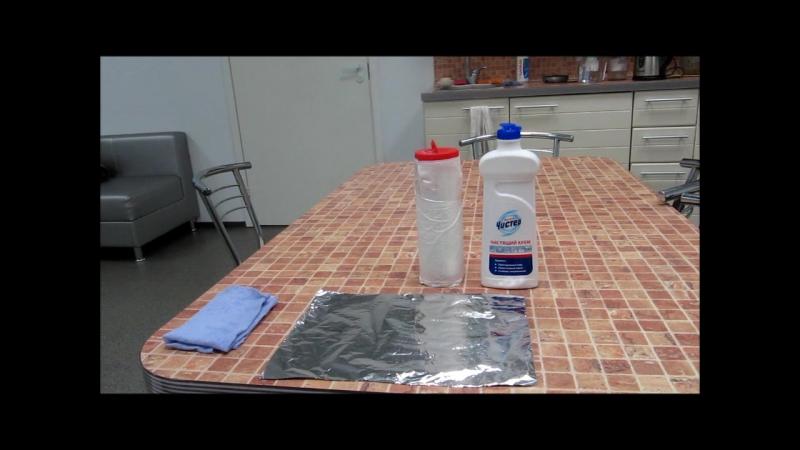 Демонстрация_Чистящий крем МЧ (бережный уход)