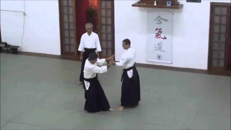 Сёдзи Сэки: Shomen-uchi Kote-gaeshi