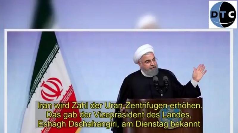Iran wird Zahl der Uran Zentrifugen erhöhen
