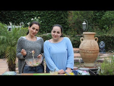 Le Pain Quotidien Zucchini Salad Recipe - Heghineh Cooking Show