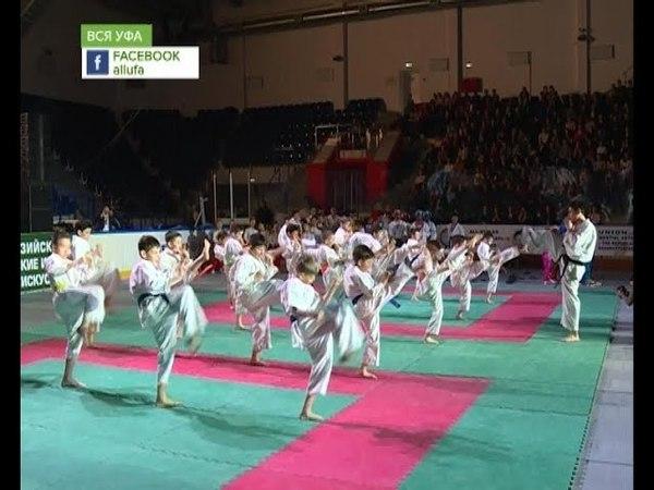 Уфа принимает первые евразийские юношеские игры боевых искусств