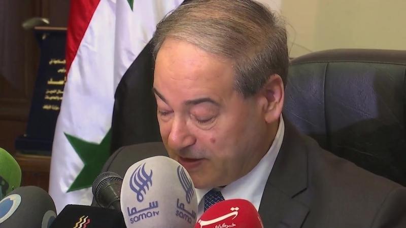 Des substances toxiques trouvées dans le bastion des forces de l'opposition dans la province de Hama - Gouvernement syrien