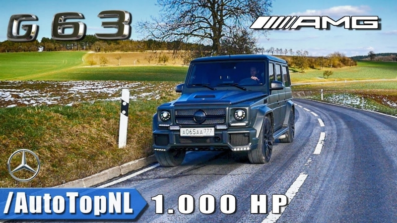 G63 AMG 1000HP GAD Motors | Exhaust SOUND - STRAIGHT PIPES - Onboard LOUD! REVS by AutoTopNL