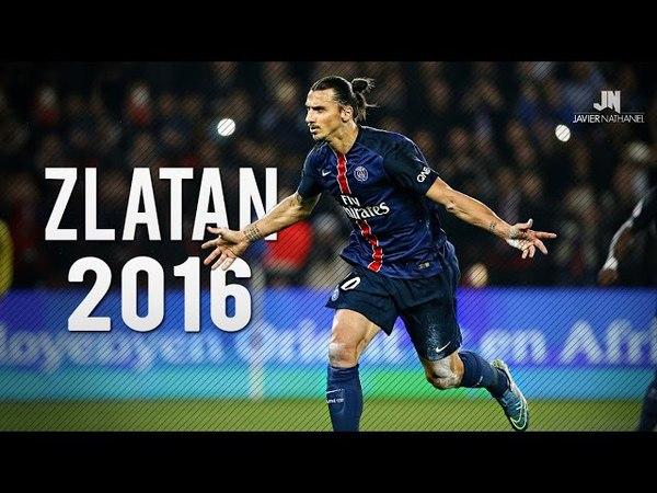 Zlatan Ibrahimovic ● Goals Skills ● 2015/16 HD