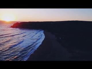 генеральские пляжи на рассвете
