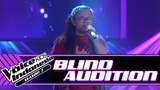 Syifa - Runnin' (Lose It All) Blind Auditions The Voice Kids Indonesia Season 3 GTV 2018