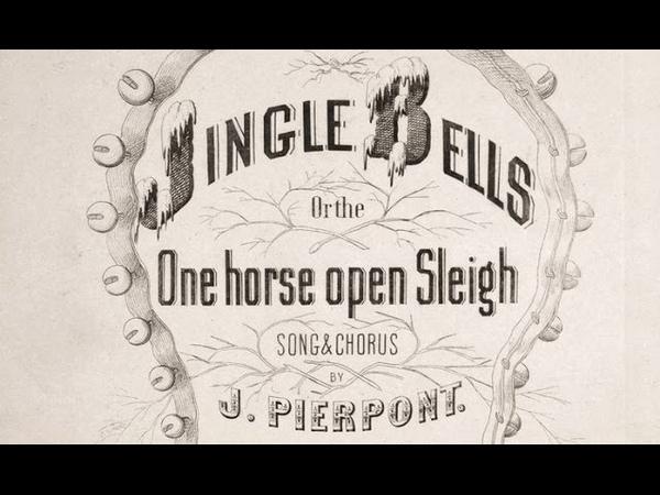 JINGLE BELLS -Original 1857 Lyrics Chorus -Tom Roush