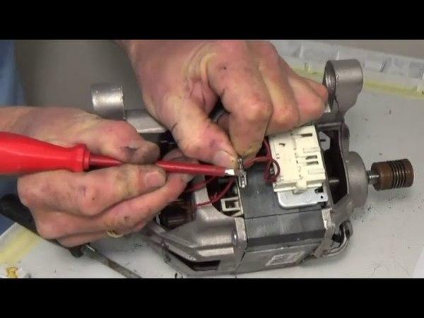 Как заменить угольные щетки двигателя на стиральных машинах Indesit Ariston