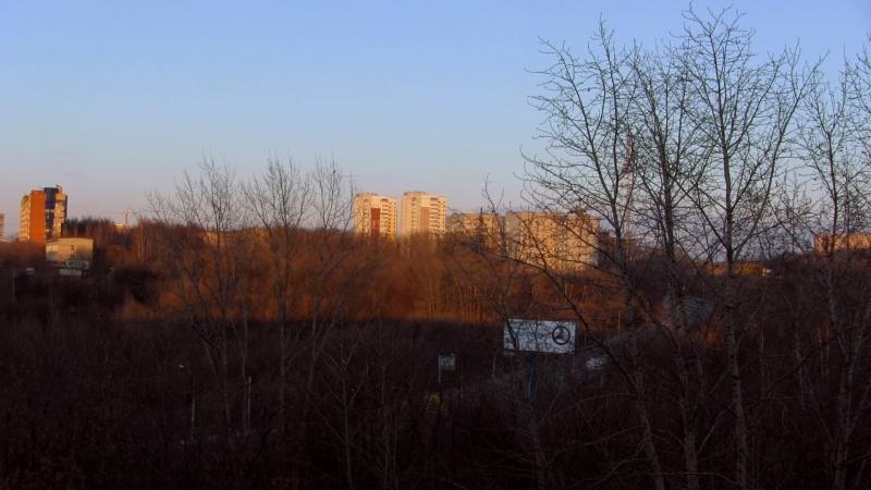 Золотой Час Весны (вид с балкона)
