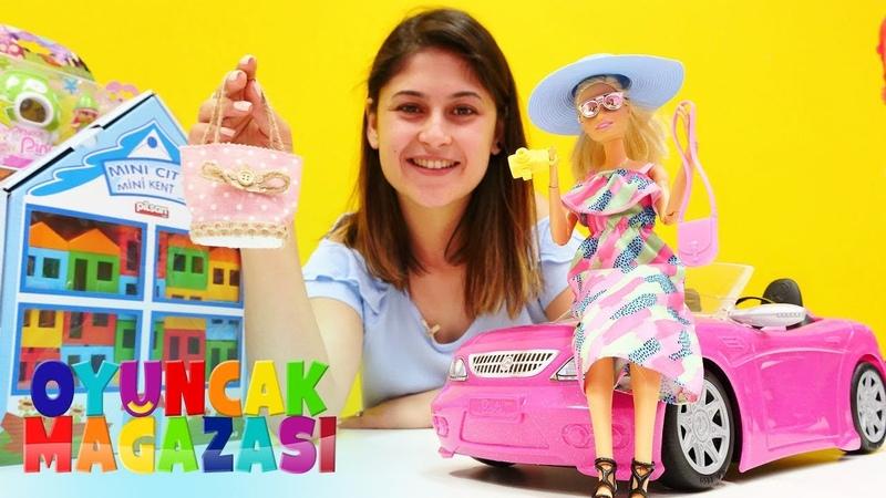 Barbie oyunları. Oyuncak mağazası. Barbienin tatil alışverişi!