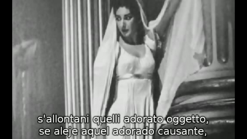 Maria Callas - O Nume tutelar de La Vestale de Spontini (subtítulos español e italiano)