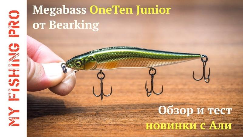 Megabass Vision OneTen Junior от Bearking. Достойная копия мелкого Уантена с Алиэкспресс.