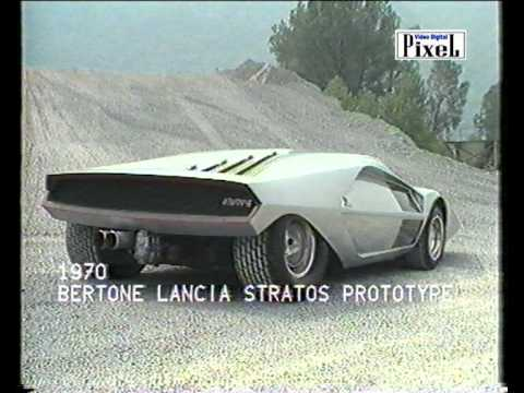 Lancia Stratos Zero by Nuccio Bertone ( Original music by S.Sapino )