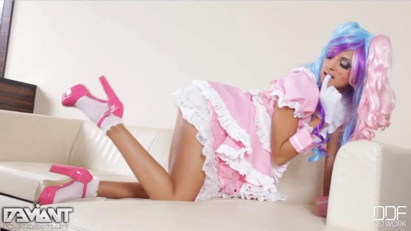 Maria Rya Cosplay Russian Girl SexyAss Legs Tits Pussy Секси Русская Шлюха Мария Рябушкина Косплей Под Юбкой Попка Ножки Киска