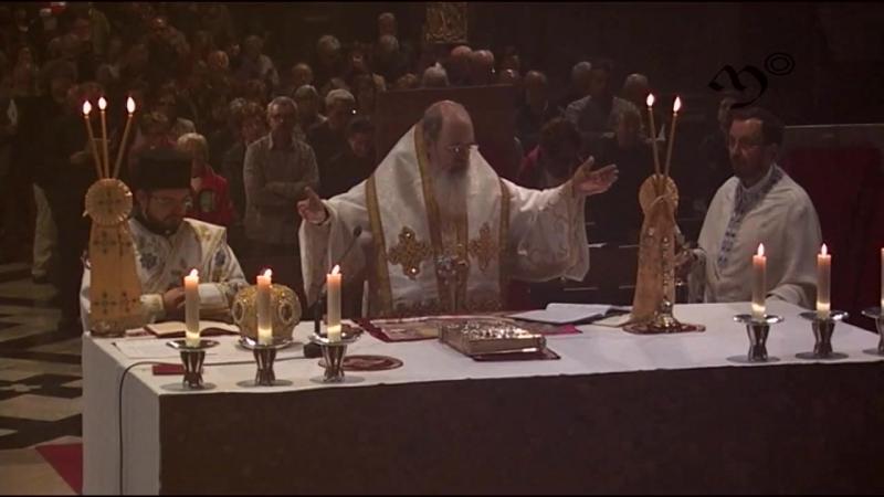 Divina Litúrgia bizantina pel P. Manuel Nin (Montserrat 29 abril 2017)