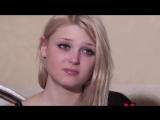 Interview Shared views on sexual life of Freshblonde Woodman Casting