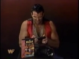 Razor Ramon plays Royal Rumble for the Genesis