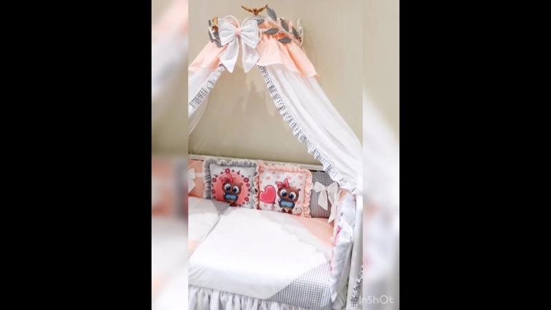 Комплект в кроватку Дисней
