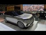 Range Rover Velar - собственный тест-драйв от компании