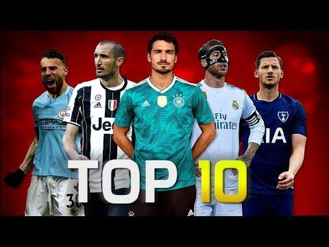 Top 10 Defenders of the Season 2017/18 (HD)