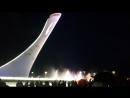 Сочи.Поющие фонтаны в олимпийском парке.
