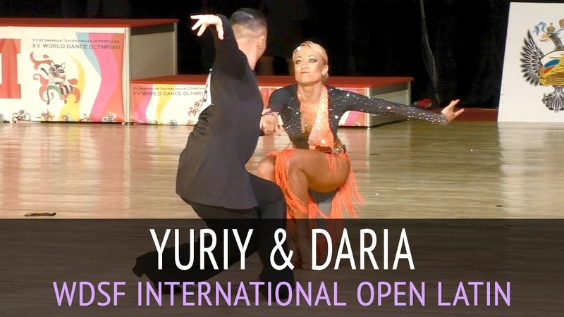 Yuriy Markelov Daria Kretova | Jive | WDSF International Open Latin - 2018 CSKA Cup