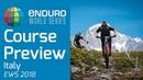 Course Preview Rd 5 EWS La Thuile ITA 2018