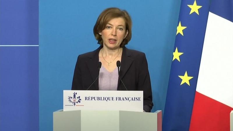 """Frankreichs Verteidigungsministerin- """"Haben sichergestellt- dass die Russen vorab gewarnt wurden"""""""