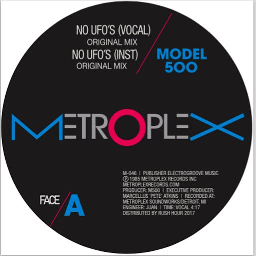 Model 500 альбом NO UFO's (feat. Juan Atkins) [Remixes by Moodymann and Luciano]