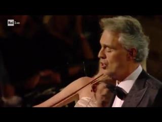 Andrea Bocelli Nelle tue mani live mp4
