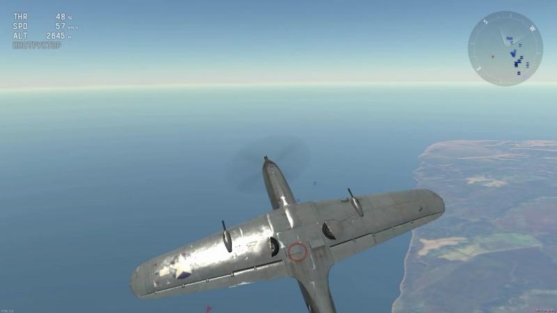 ЧТо происходит в кабине самолёта в War Thunder При манёврах )
