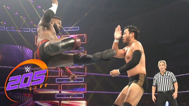 Cedric Alexander vs. Hideo Itami - WWE Cruiserweight Championship Match: WWE 205 Live, July 10, 2018