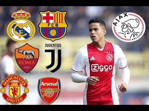 Justin Kluivert Skills Assists Goals 2018